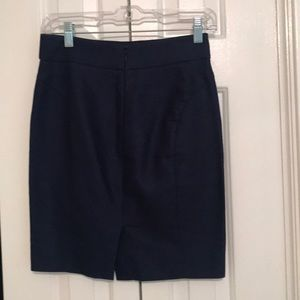 J. Crew Skirts - J. Crew Navy Blue Pencil Skirt, 00P